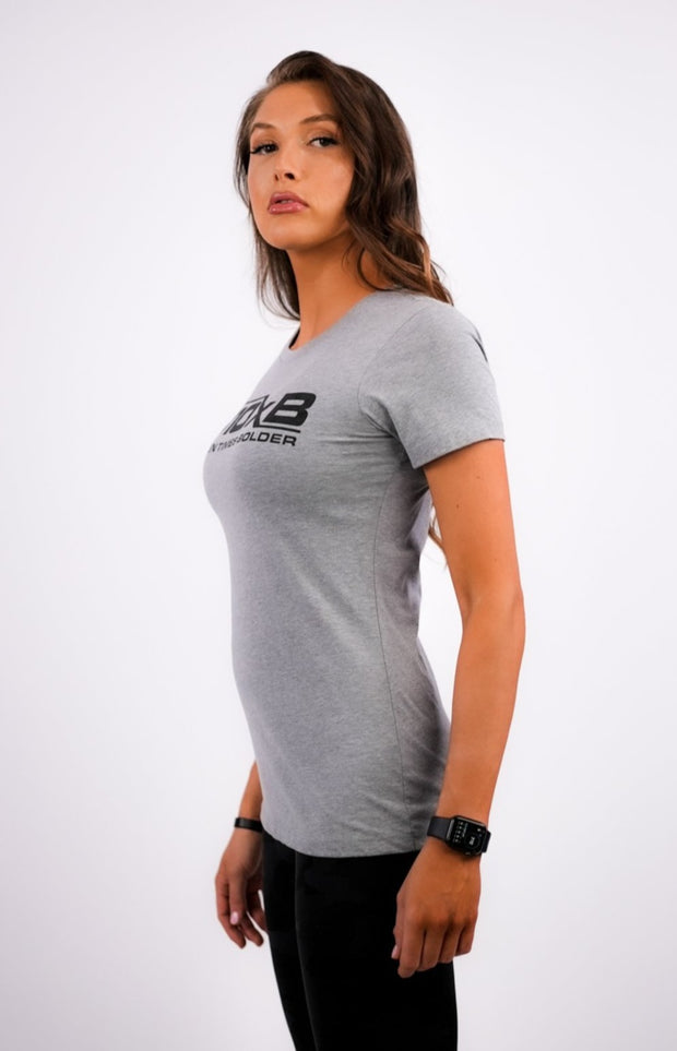 Women's B10xB Gray T-Shirt