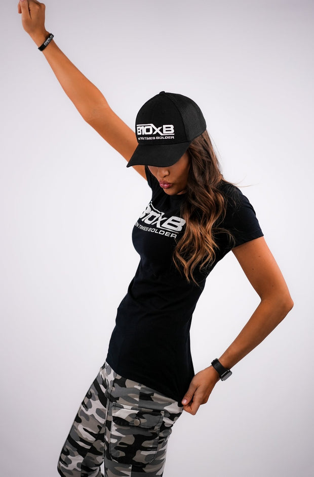 Women's B10xB Black T-Shirt