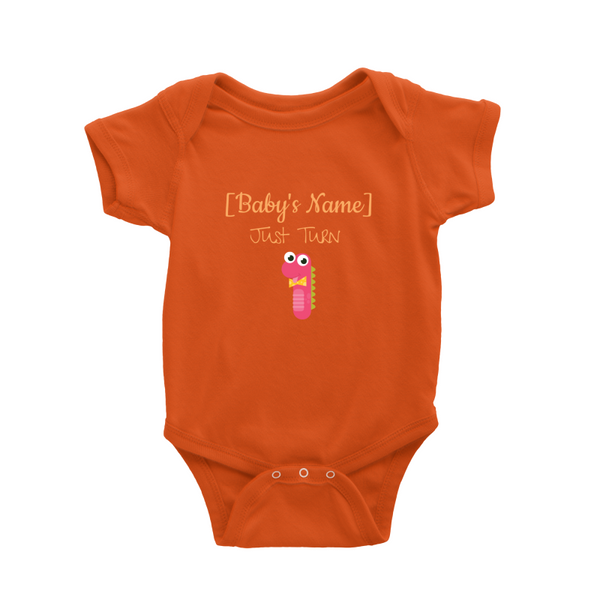 Just Turn 1 - Baby Romper [Personalised]