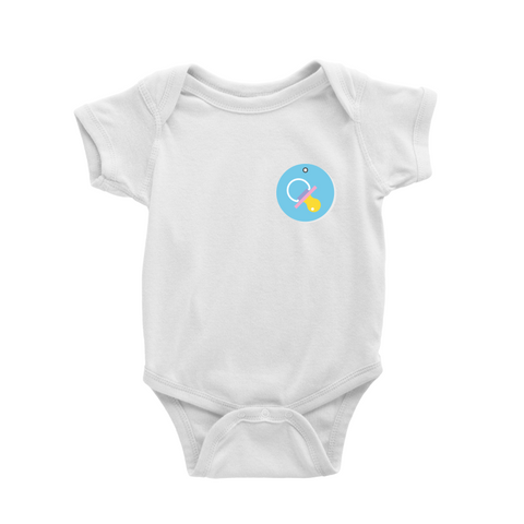 Romper in Pacifier badge