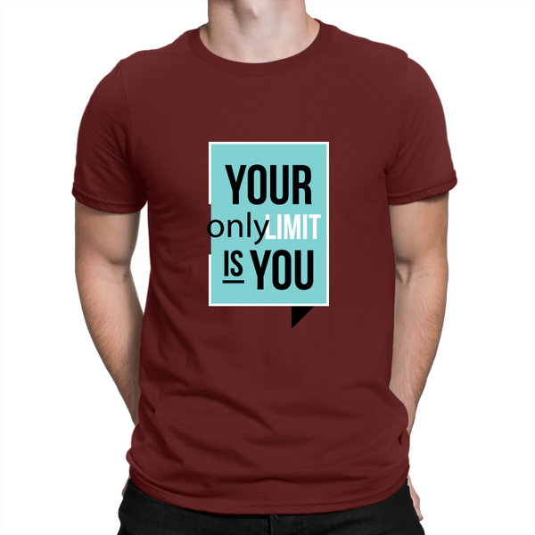 Your Only Limit Is You Adult T-Shirt