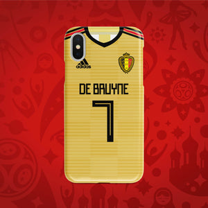 Belgium Away - World Cup 2018 Russia Jersey Series Phone Case