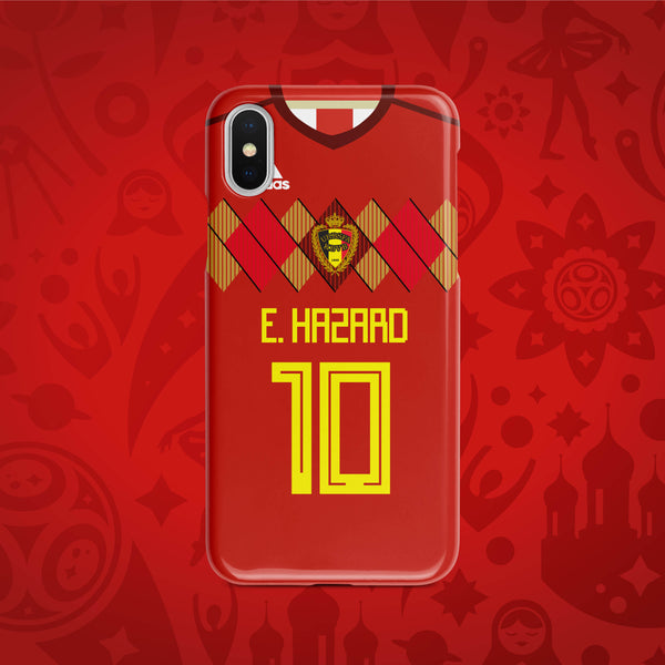 Belgium Home - World Cup 2018 Russia Jersey Series Phone Case