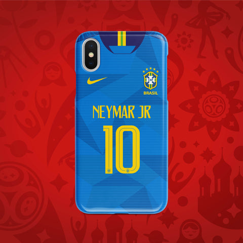 Brazil Away - World Cup 2018 Russia Jersey Series Phone Case
