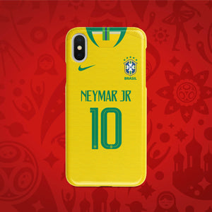 Brazil Home - World Cup 2018 Russia Jersey Series Phone Case