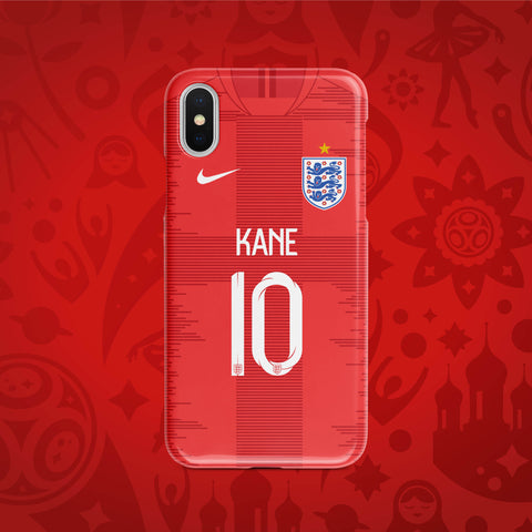 England Away - World Cup 2018 Russia Jersey Series Phone Case