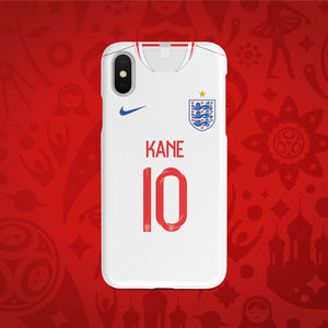 England Home - World Cup 2018 Russia Jersey Series Phone Case