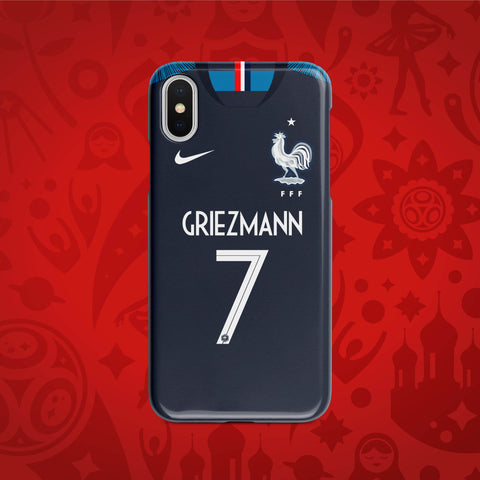 France Home - World Cup 2018 Russia Jersey Series Phone Case