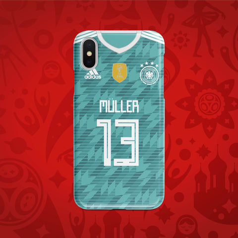 Germany Away- World Cup 2018 Russia Jersey Series Phone Case