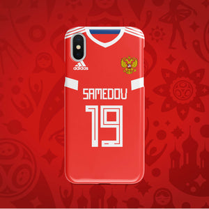 Russia Home - World Cup 2018 Russia Jersey Series Phone Case