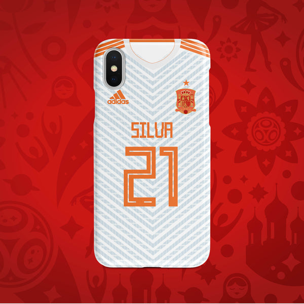Spain Away - World Cup 2018 Russia Jersey Series Phone Case
