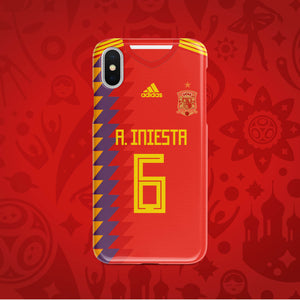Spain Home - World Cup 2018 Russia Jersey Series Phone Case