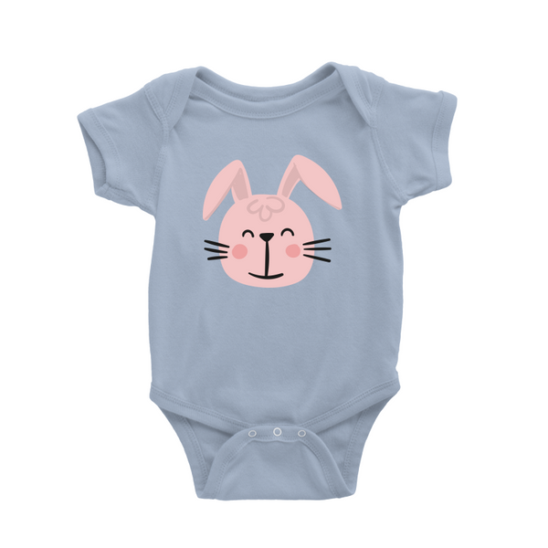 Rabbit Head Baby Romper
