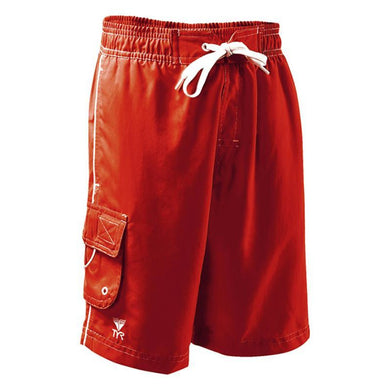 TYR BOYS RED CHALLENGER SWIM SHORTS