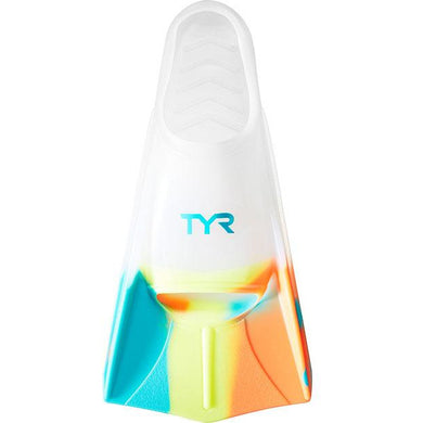 TYR CLEAR STRYKER SILICONE FIN