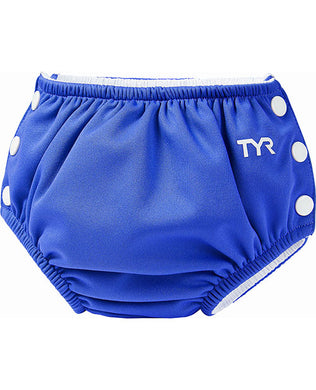 TYR BLUE ADJUSTABLE SWIM NAPPY