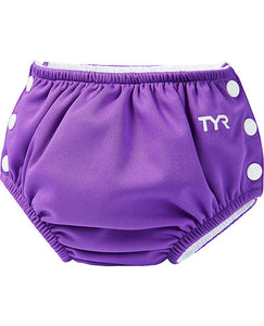 TYR PURPLE ADJUSTABLE SWIM NAPPY