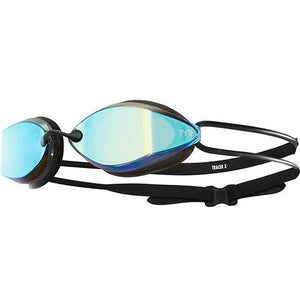 TYR GOLD/BLACK TRACER X RACING MIRRORED GOGGLE