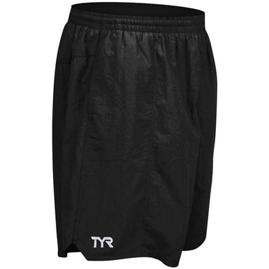 TYR MEN'S BLACK CLASSIC DECK SHORT