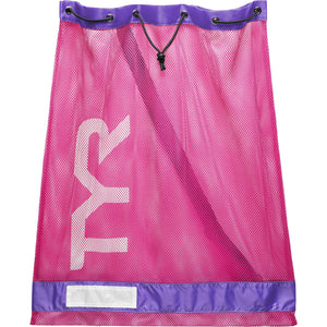 TYR PINK/PURPLE MESH EQUIPMENT BAG