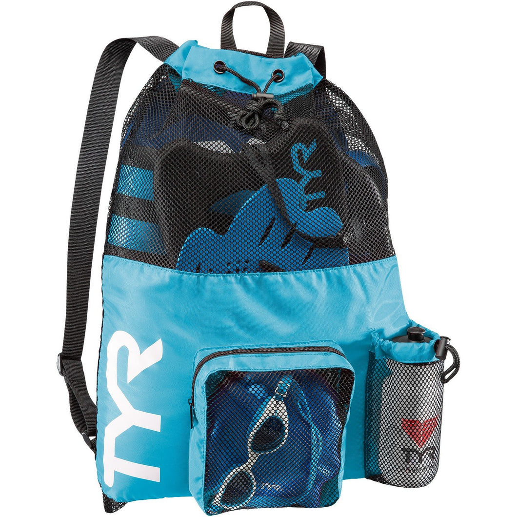TYR BLUE BIG MESH MUMMY BACKPACK