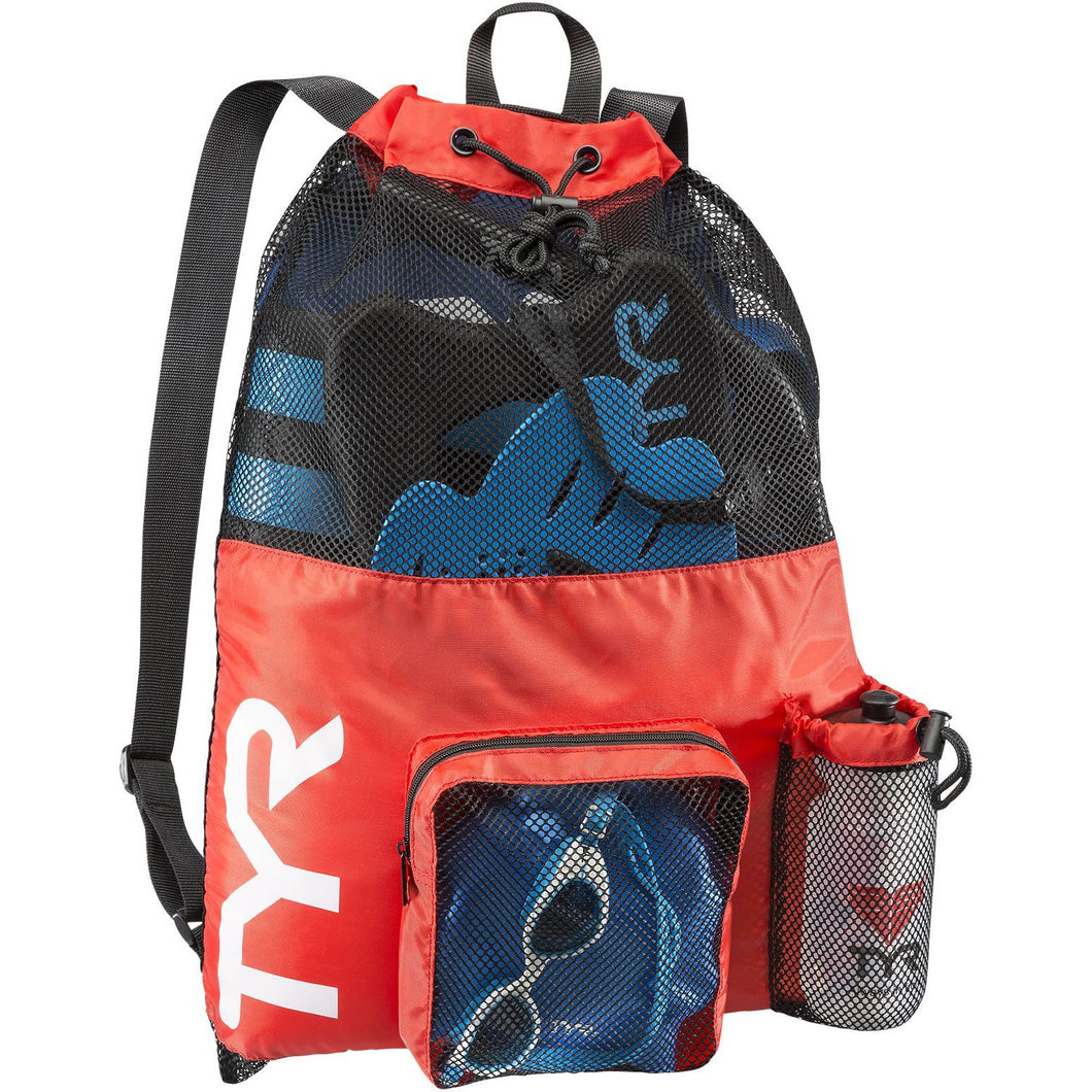 TYR RED BIG MESH MUMMY BACKPACK
