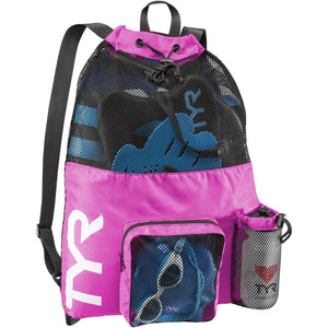 TYR PINK BIG MESH MUMMY BACKPACK