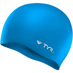 TYR BLUE WRINKLE FREE SILICONE CAP