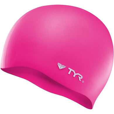 TYR PINK WRINKLE FREE SILICONE CAP