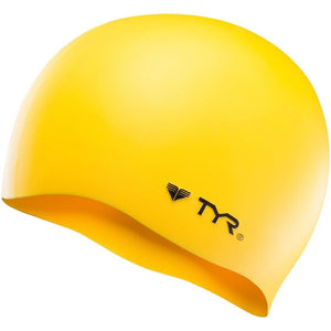 TYR YELLOW WRINKLE FREE SILICONE CAP