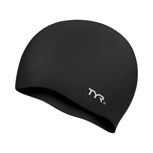 TYR BLACK WRINKLE FREE JR SILICONE CAP