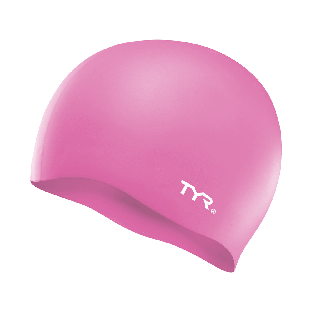 TYR PINK WRINKLE FREE JR SILICONE CAP