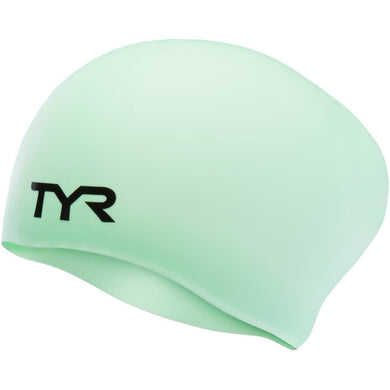 TYR MINT LONG HAIR WRINKLE FREE SILICONE CAP