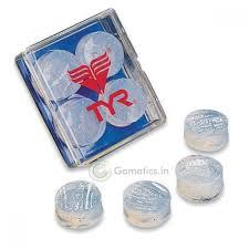 TYR CLEAR SOFT SILICONE EARPLUGS