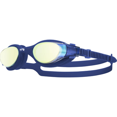 TYR GOLD/NAVY VESI MIRRORED GOGGLE