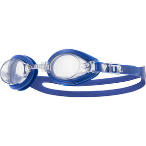 TYR CLEAR/BLUE QUALIFIER GOGGLE