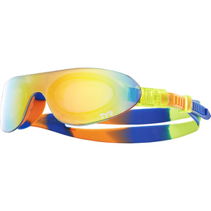 TYR RAINBOW/FL YELLOW/ORANGE KIDS SWIMSHADES MIRRORED
