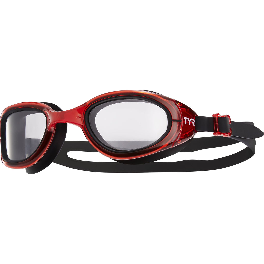 TYR CLEAR/RED/BLK SPECIAL OPS 2.0 TRANSITION GOGGLE