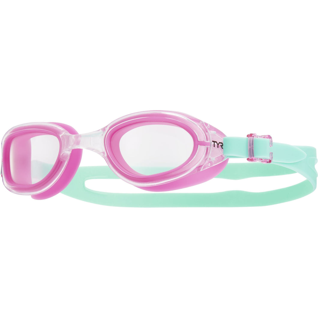 TYR CLEAR/PINK/MINT SPECIAL OPS 2.0 TRANSITION FEMME GOGGLE