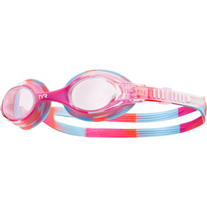 TYR PINK/WHITE KIDS SWIMPLE TIE DYE GOGGLE