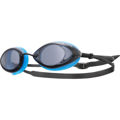 TYR SMK/BLUE/BLK TRACER RACING GOGGLE