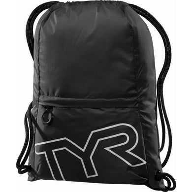 TYR BLACK DRAWSTRING SACK PACK
