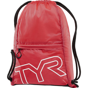 TYR RED DRAWSTRING SACK PACK