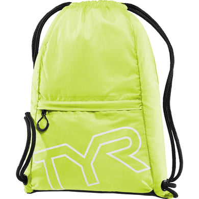 TYR FL. YELLOW DRAWSTRING SACK PACK