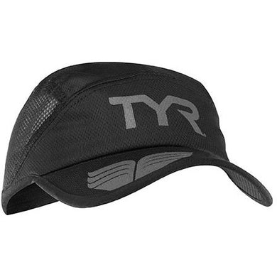 TYR BLACK/GREY RUNNING CAP