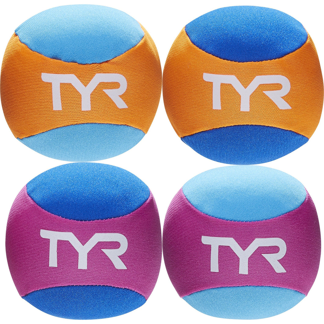 TYR ASSORTED KIDS' POOL BALLS