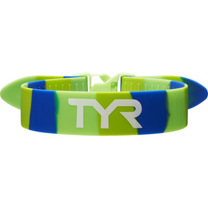 TYR GREEN/BLUE RALLY TRAINING STRAP