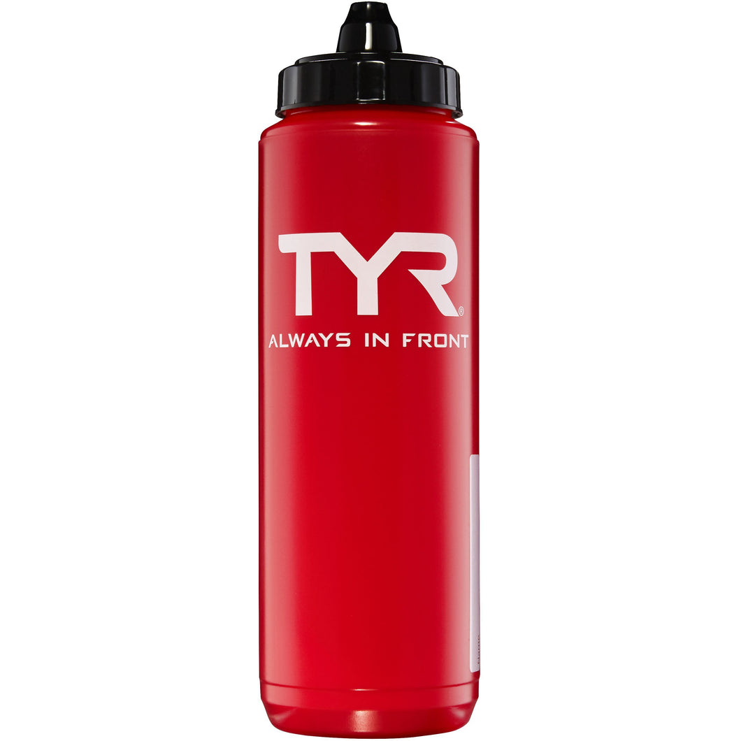 TYR RED WATER BOTTLE