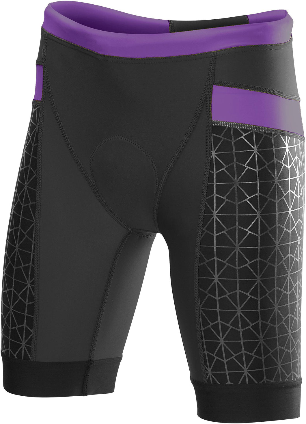TYR WOMEN'S BLACK/PURPLE COMPETITOR 8