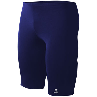TYR MEN'S NAVY SOLIDS DURAFAST ELITE JAMMER SWIMSUIT